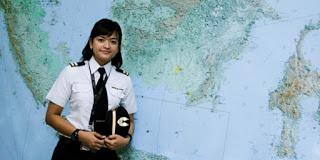 7 Pilot Wanita Paling Hot di Indonesia