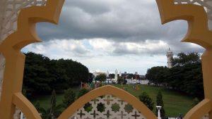 Objek wisata Taman Sari di depan Balai Kota Banda Aceh mulai bersolek